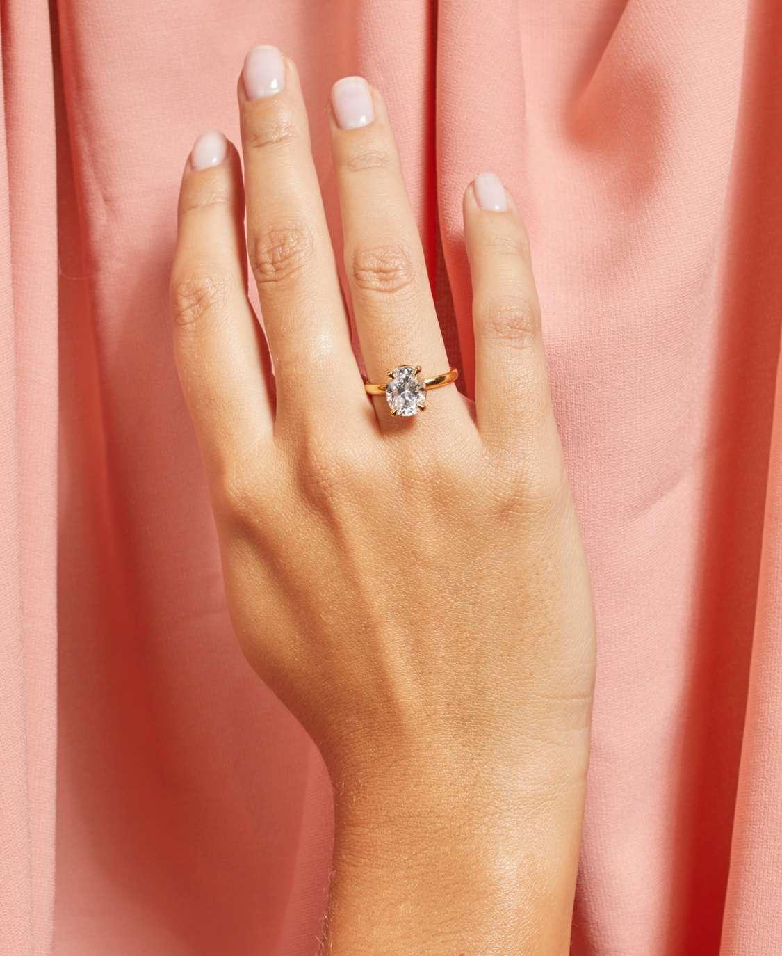 Gemist Engagement Ring