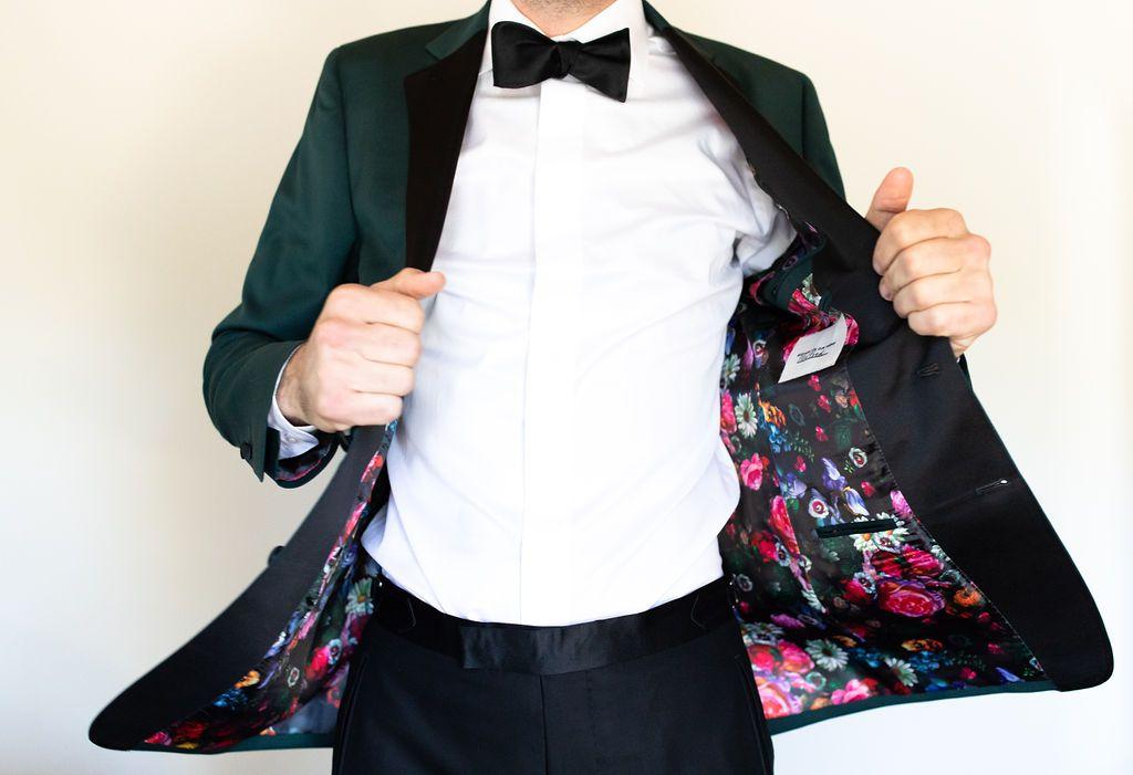 Groom's jacket