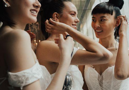 Bridal models
