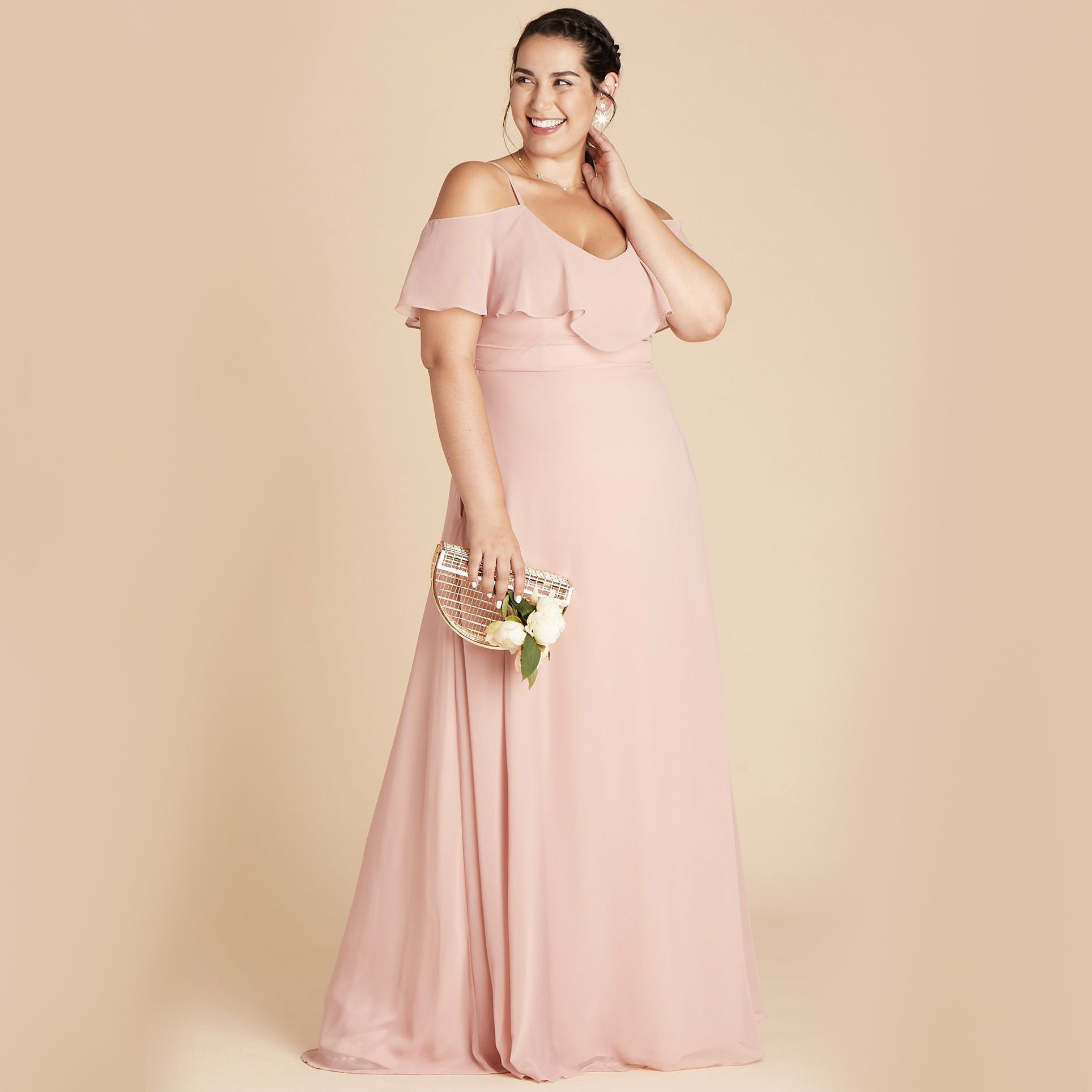 35 Pretty Pink Bridesmaid Dresses For Every Style