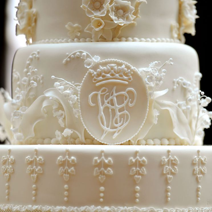 Details of Kate Middleton and Prince William's wedding cake