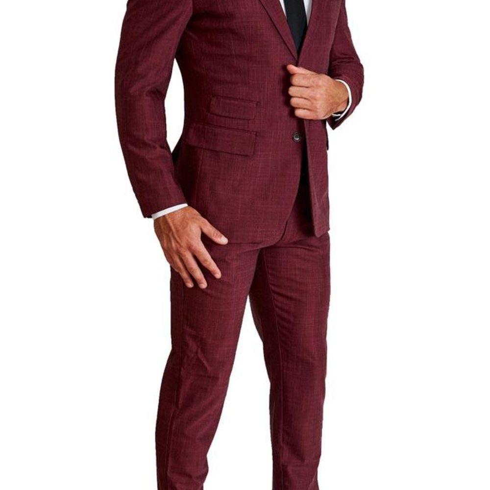 heathered suit