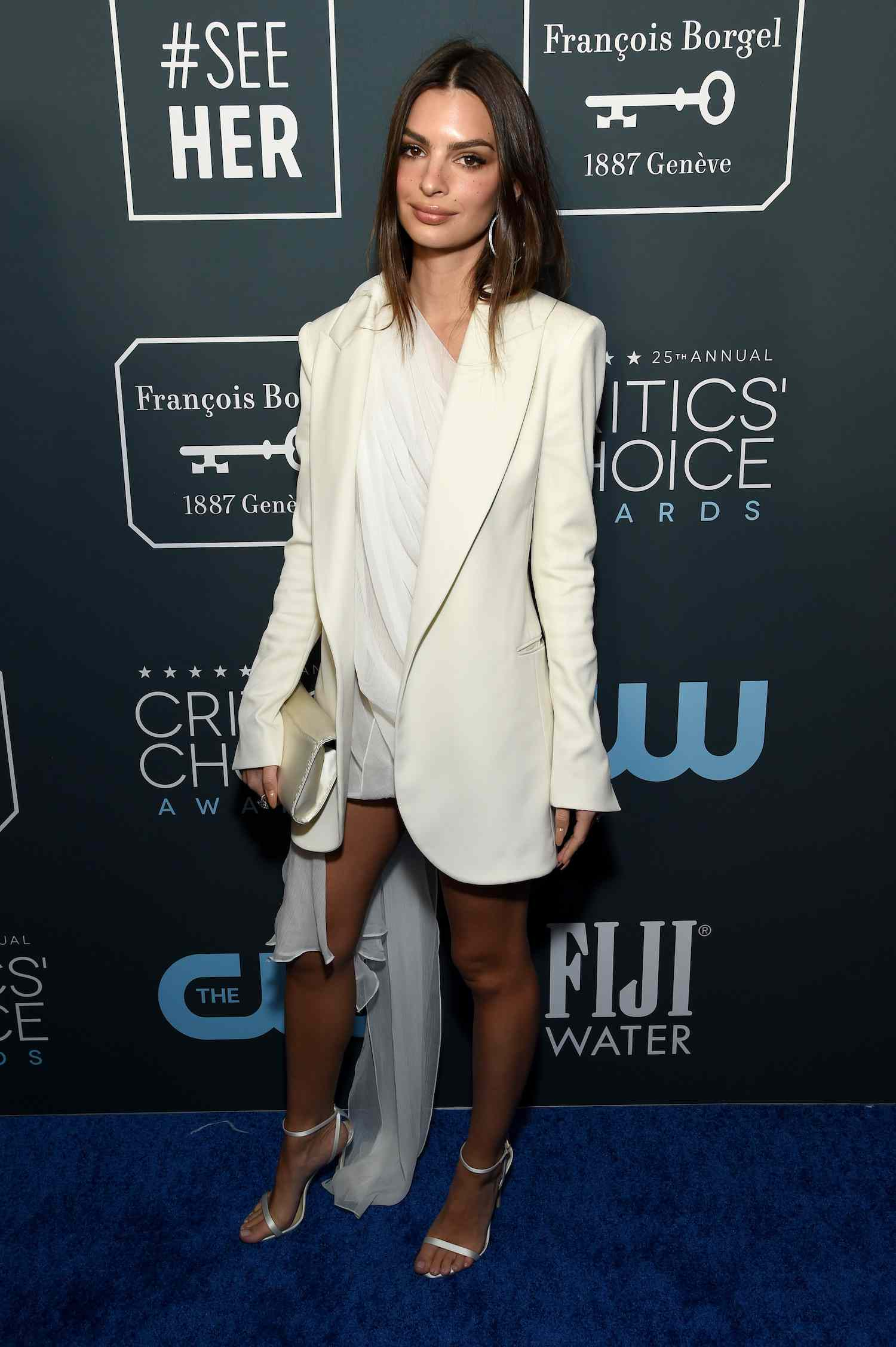 Emily Ratajkowski 2020 Critics' Choice Awards