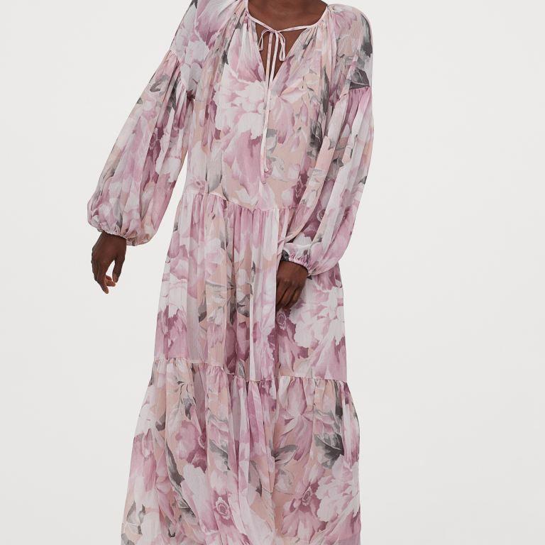 H&M Chiffon Dress, $49.99