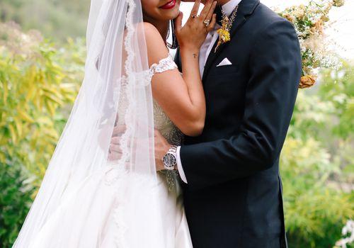 savannah and riker wedding, bride and groom