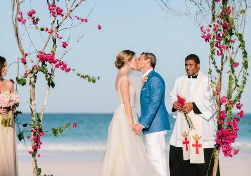 <p>Beach Wedding Ceremony</p>