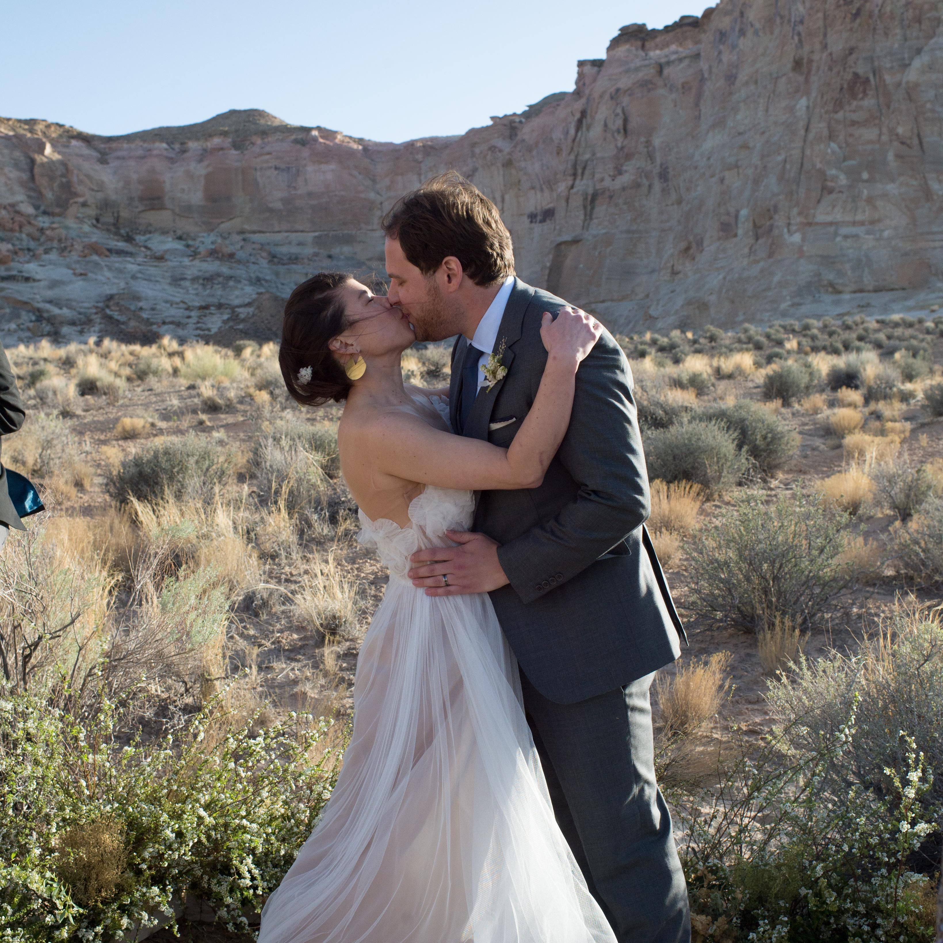 An Intimate Desert Wedding At Amangiri In Utah