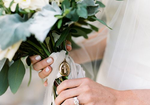 bridal bouquet locket