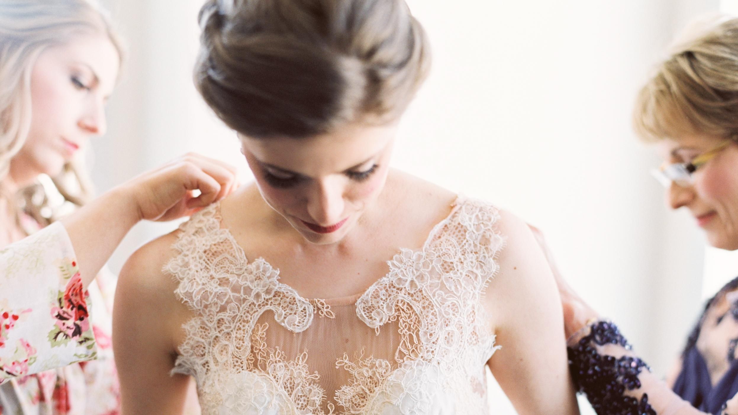 The Best Ways To Accentuate Small Breasts In A Wedding Dress