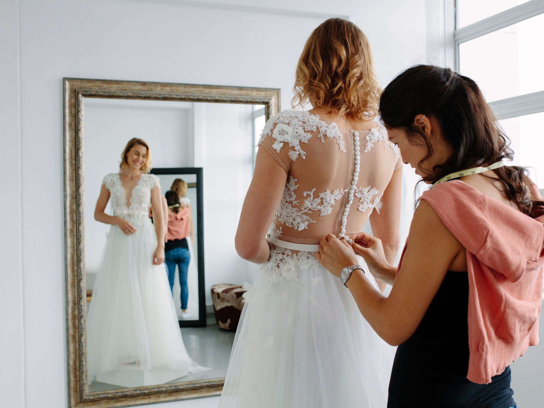 Wedding Dress Fittings Alterations All Your Questions Answered
