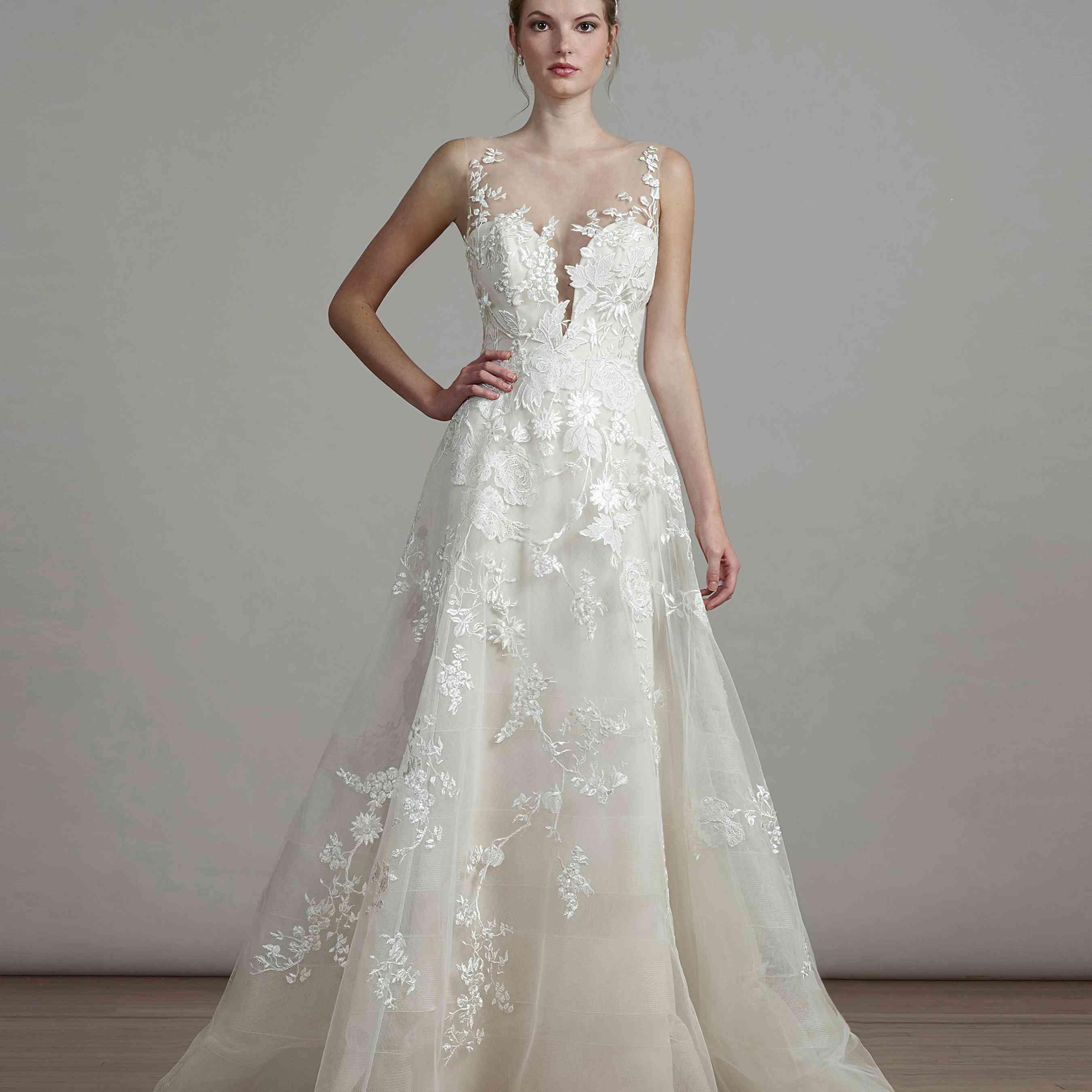 Spring Wedding Dresses.Liancarlo Spring 2018