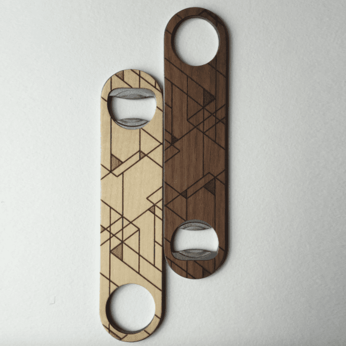 Tramake SCANDI Wood Bottle Opener