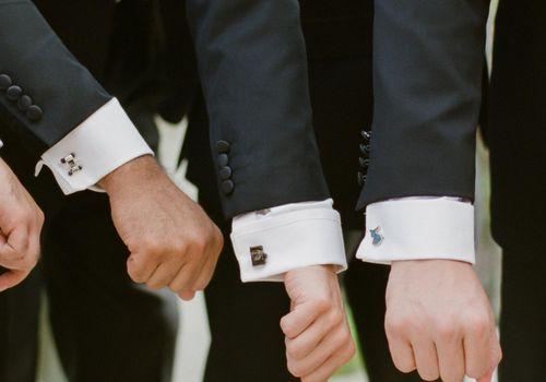 <p>custom groomsman cufflinks</p>