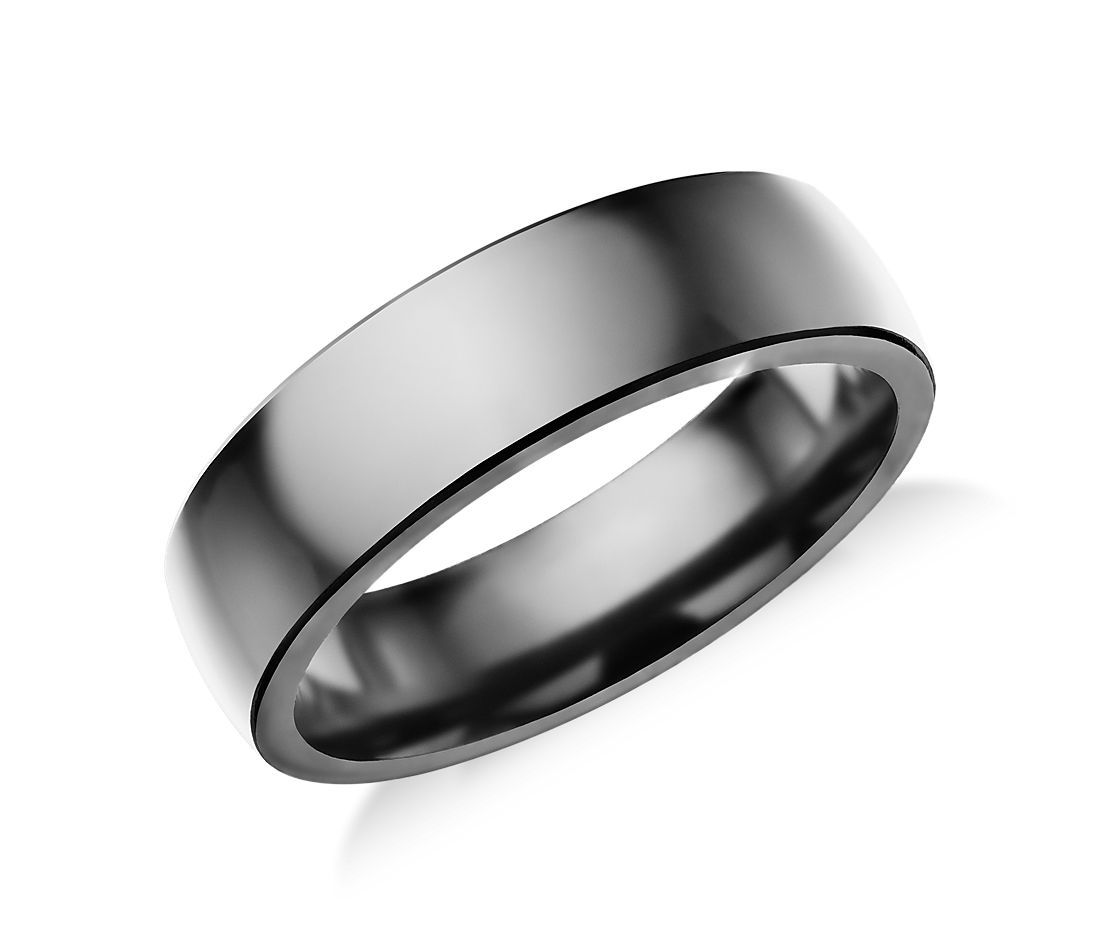 Low Dome Comfort Fit Wedding Ring