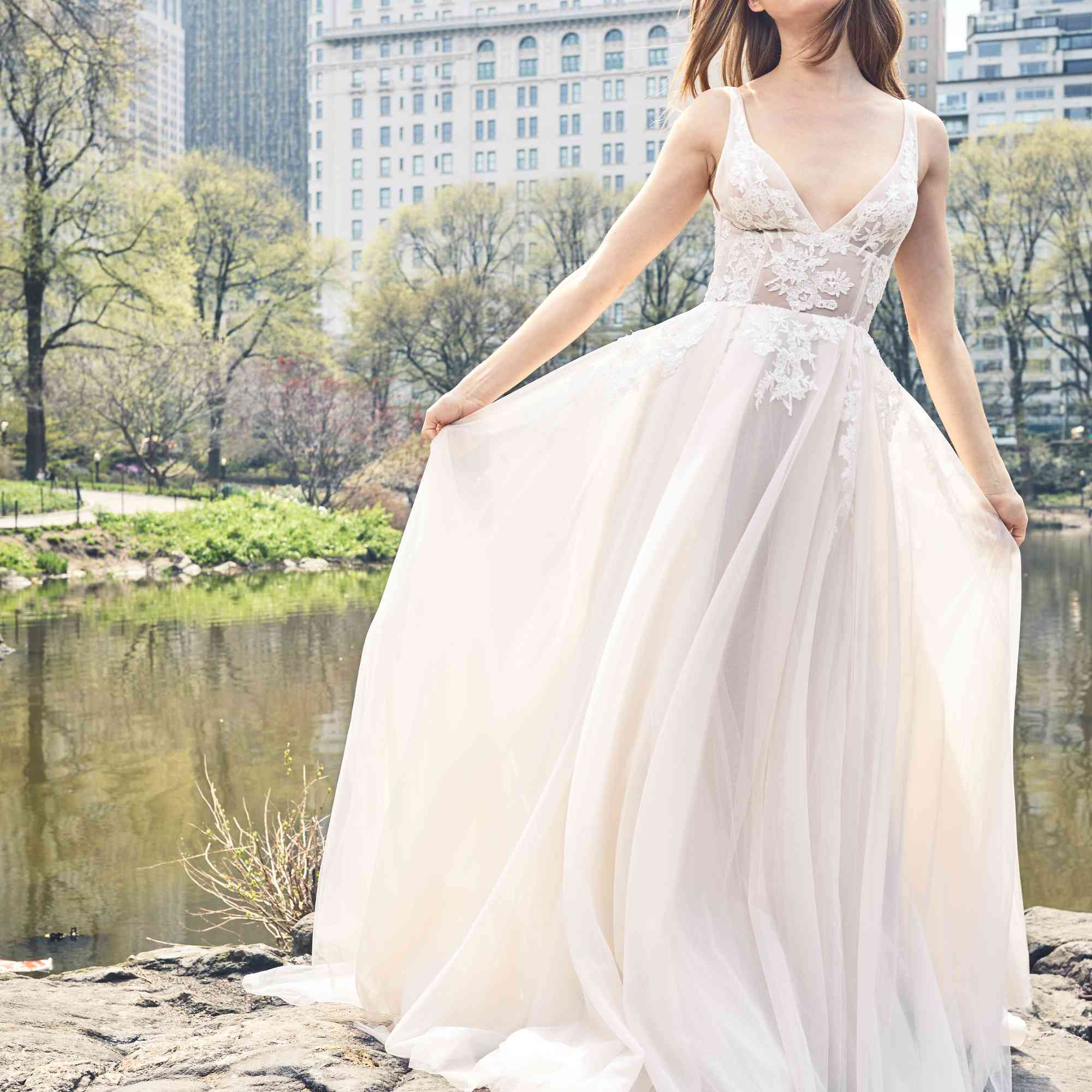 Ethereal Wedding Dress.7 Dreamy Ethereal Wedding Dresses For The Romantic Bride