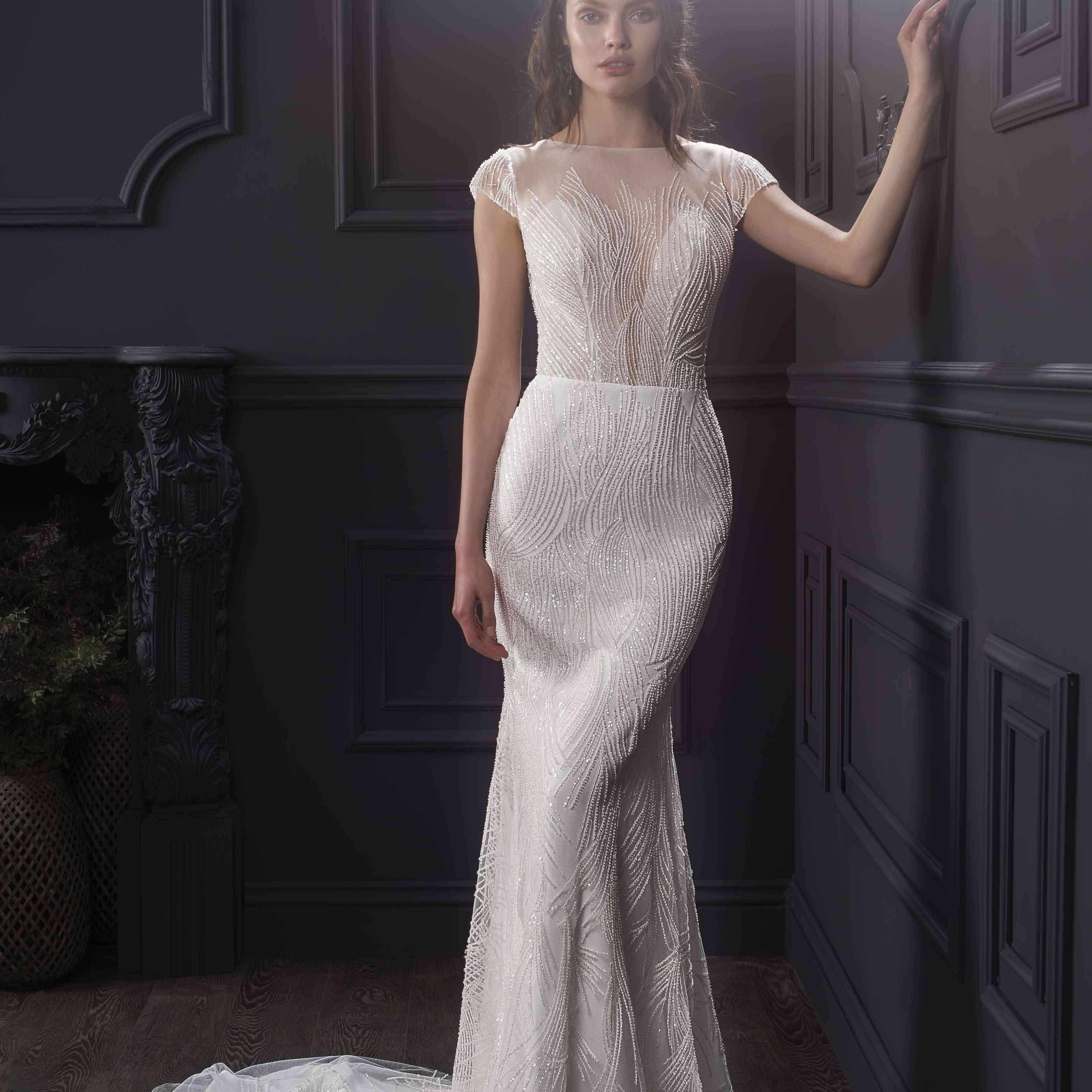 Jade wedding dress