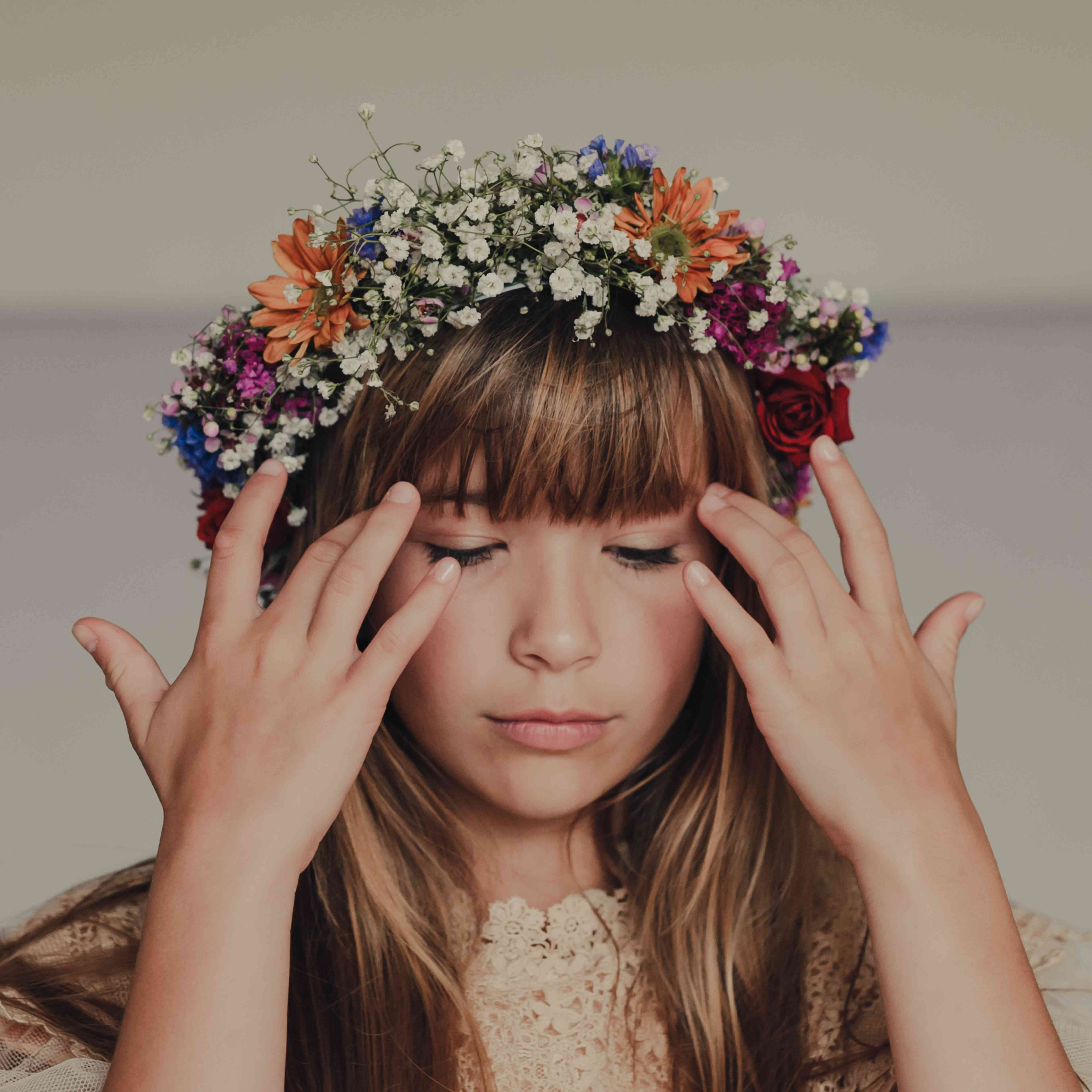 41 Whimsical Flower Crown Ideas For Your Wedding Hairstyle