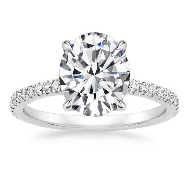 Brilliant Earth Luxe Viviana Diamond Engagement Ring