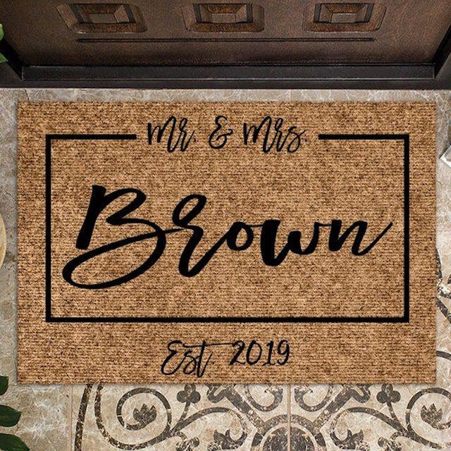 mr. and mrs. doormat