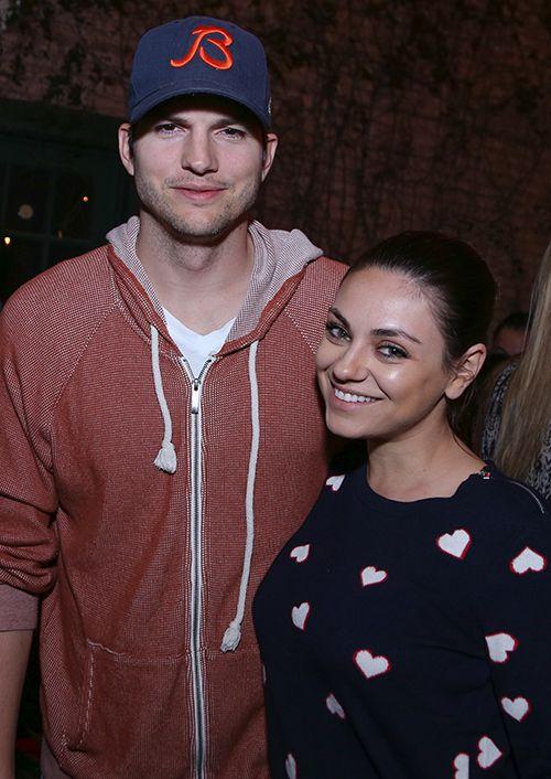 Ashton Kutcher And Mila Kunis Wedding.Get The Details On Mila Kunis And Ashton Kutcher S Secret Garden Wedding