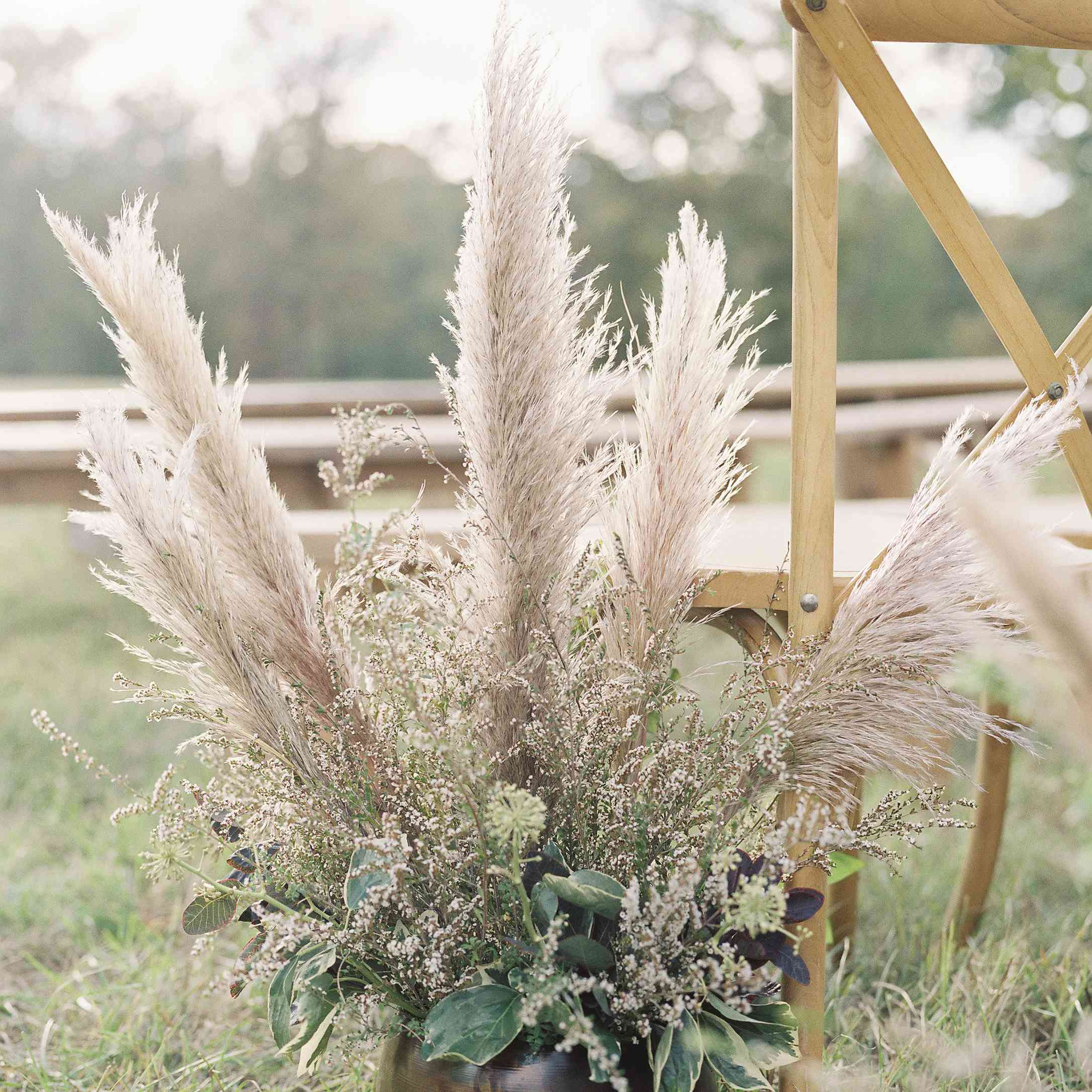 <p>Floral arrangement at ceremony</p><br><br>