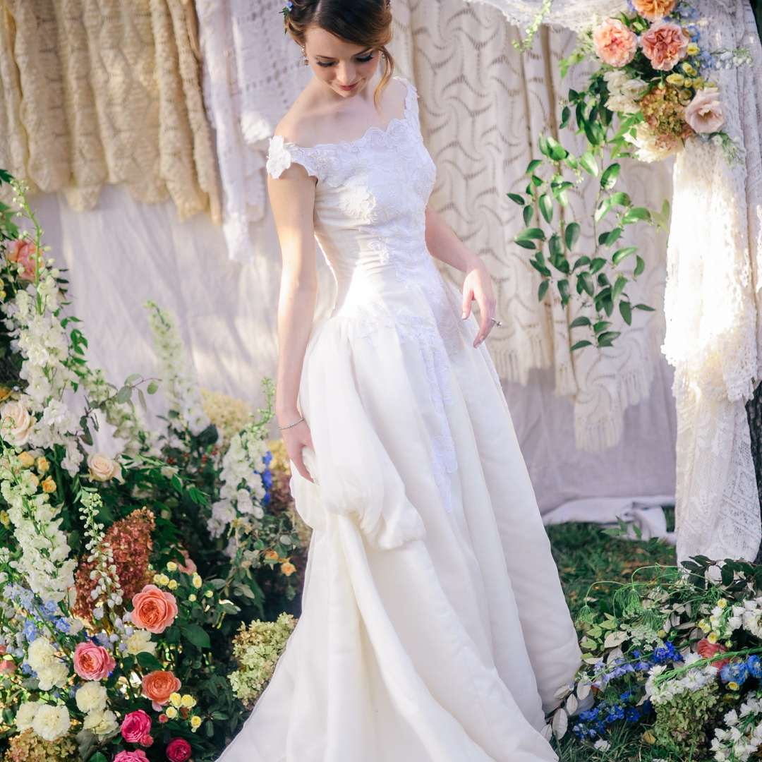 French Wedding Gowns For The Boho Bride By Christina Sfez
