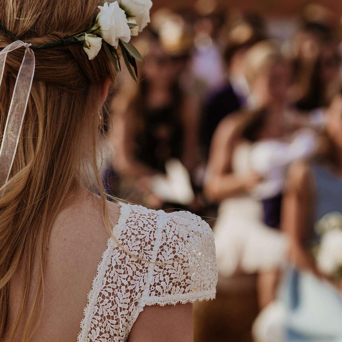 <p>Bride close-up</p><br><br>
