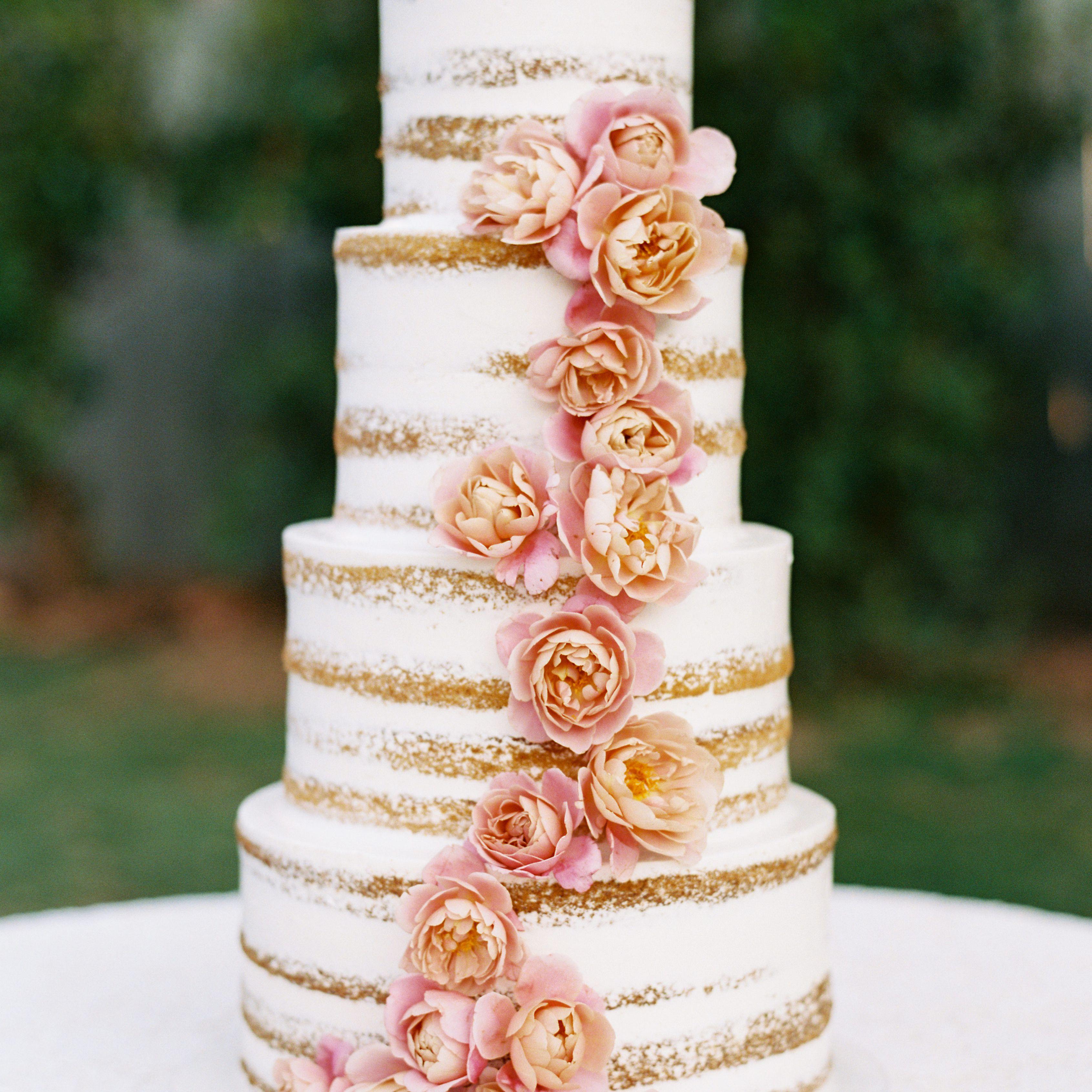 39 Naked Wedding Cakes