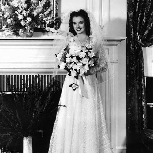 Marilyn Monroe First Wedding Dress
