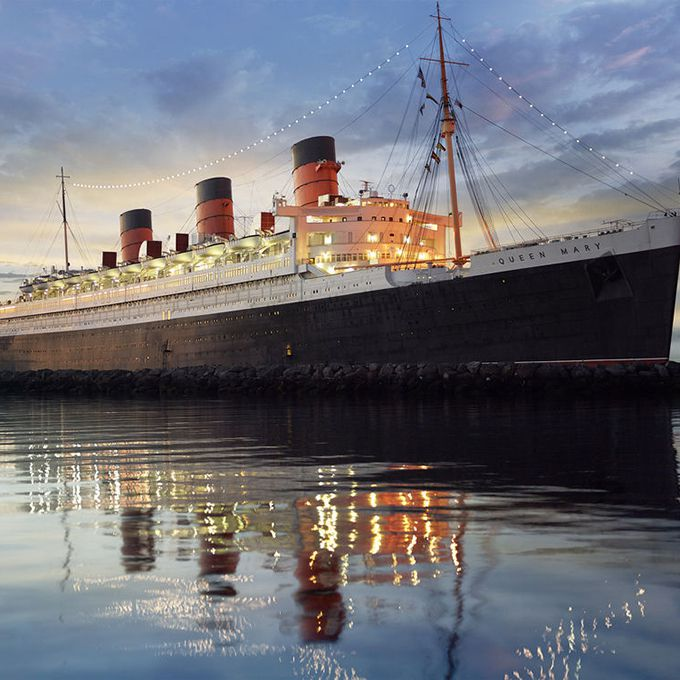 There's nothing like romance at sea, and The Queen Mary — with its stately ballroom, stern-side ceremonies, and onboard hotel rooms — is the ultimate example. Built in the 1930s, this ocean liner spent 30 years at sea with at least 49 reported deaths on board. And plenty of those spirits still lurk the ship, including two crewmen who were crushed to death by Door 13 in the engine room, located 50 feet below sea level and the boat's most haunted room. You might also see women in 1930's-style bathing suits around the first class swimming pool, or hear the giggling of a little girl named Jackie around the second-class pool where she drowned. Other appearances, like that of a tall dark haired man in a suit or a lady in white, along with odd occurrences like doors slamming, high-pitched squeals, and drastic temperature changes will leave no doubt in your mind as to why this vessel was named one of the Top 10 Most Haunted Places by Time magazine