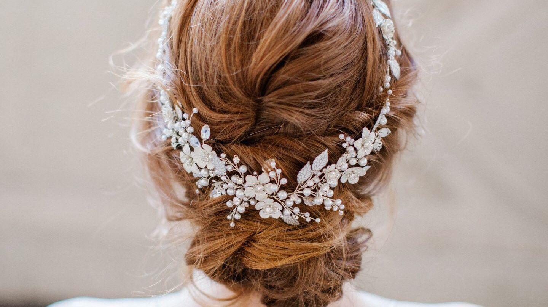 STUNNING BRIDAL WEDDING RHINESTONES DIAMANTE HAIR COMB CLIP
