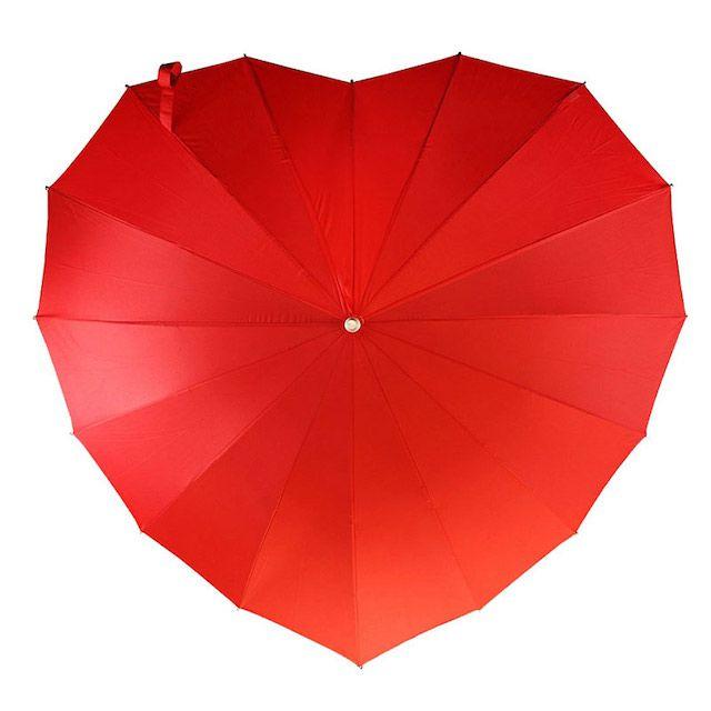 Umbrella Heaven Red Heart Umbrella