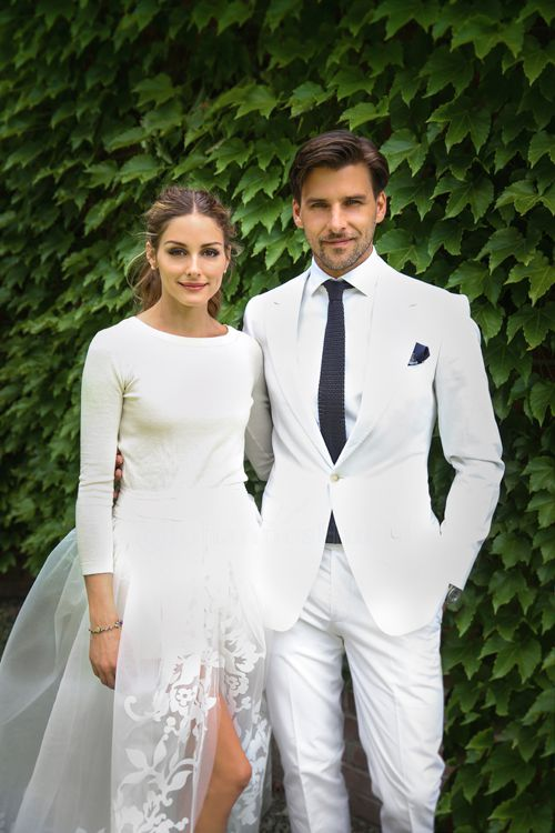 Olivia Palermo Wedding.It S Official Olivia Palermo Is Married See Her Wedding Dress