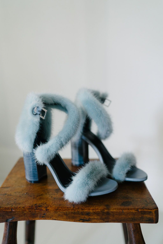 augusta wedding, blue shoes