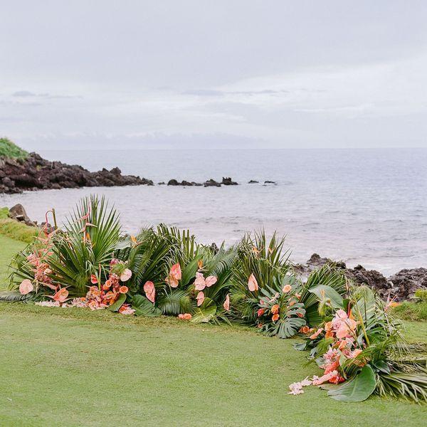 hawaii wedding altar
