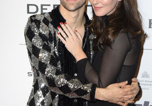 Max Schneider and wife Emily