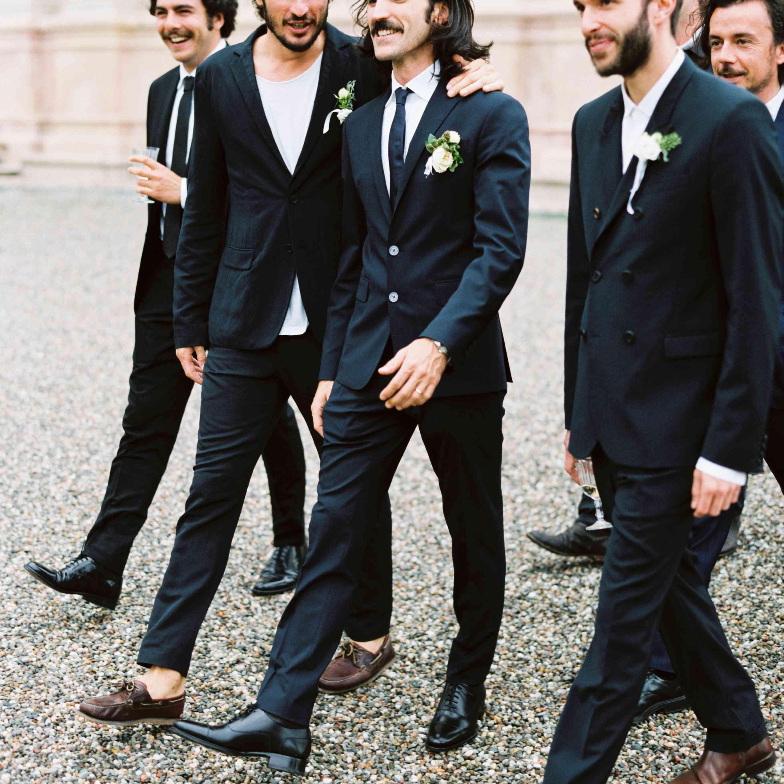 Northern Italian Wedding, Groomsmen