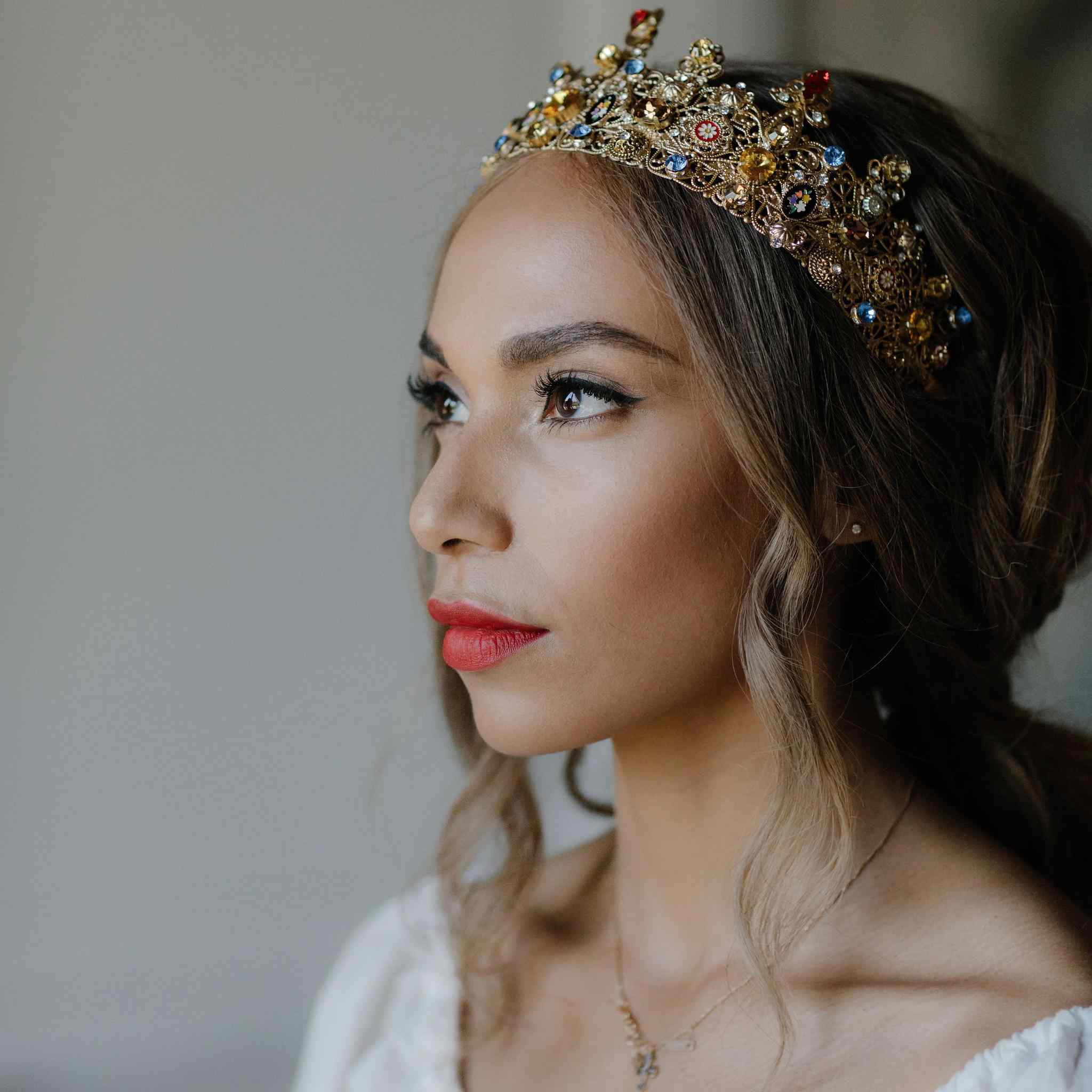 31cdd9937d731 10 Royal Wedding Inspired Tiaras and Headpieces We're Loving on Etsy