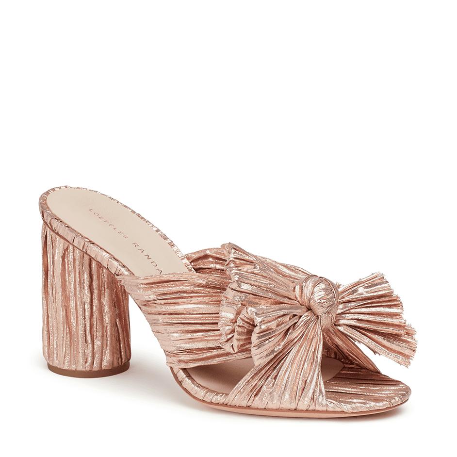 Bridal Shoes Saks: 10 Perfect Rose Gold Wedding Shoes