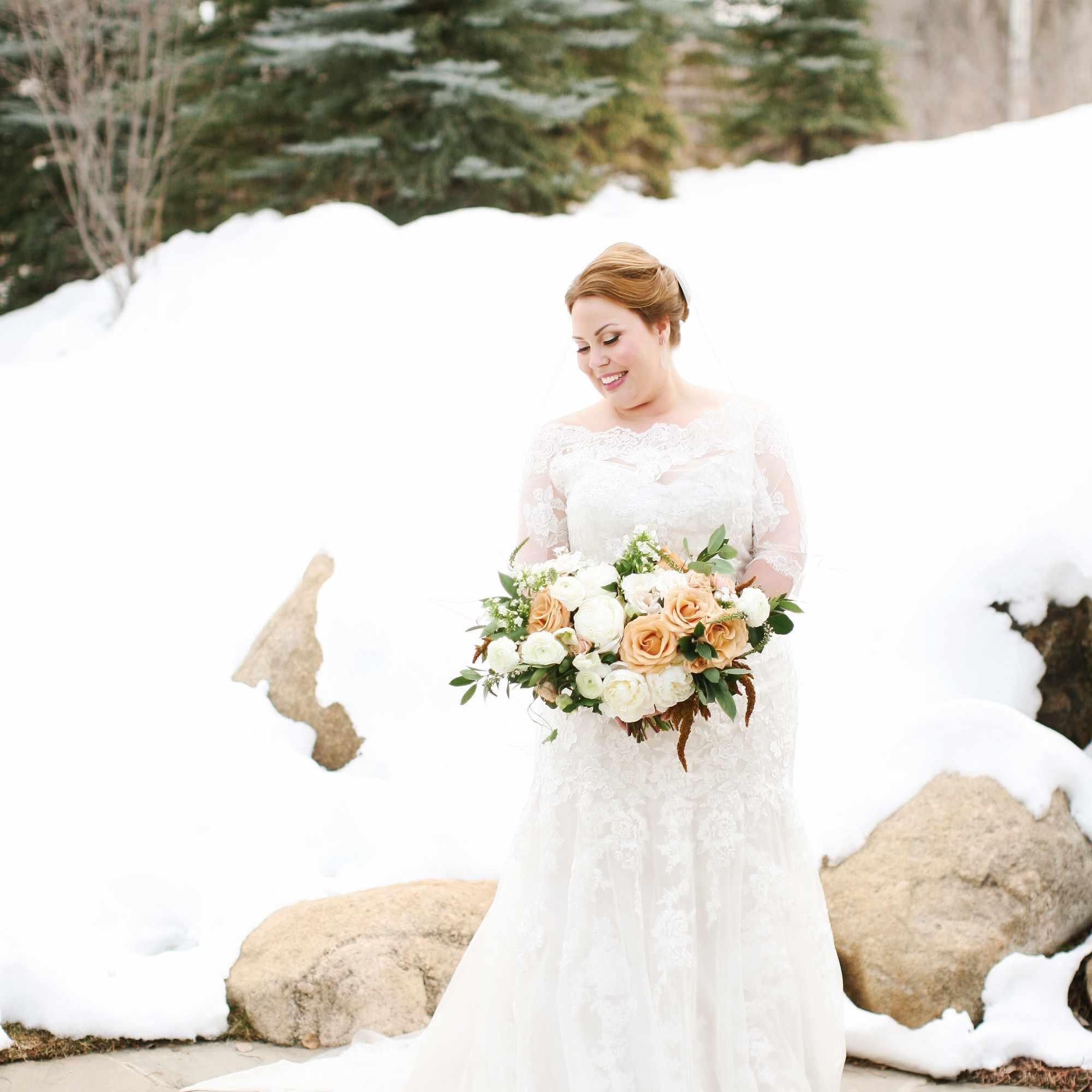 One Couple S Snowy Destination Wedding In Beaver Creek Colorado