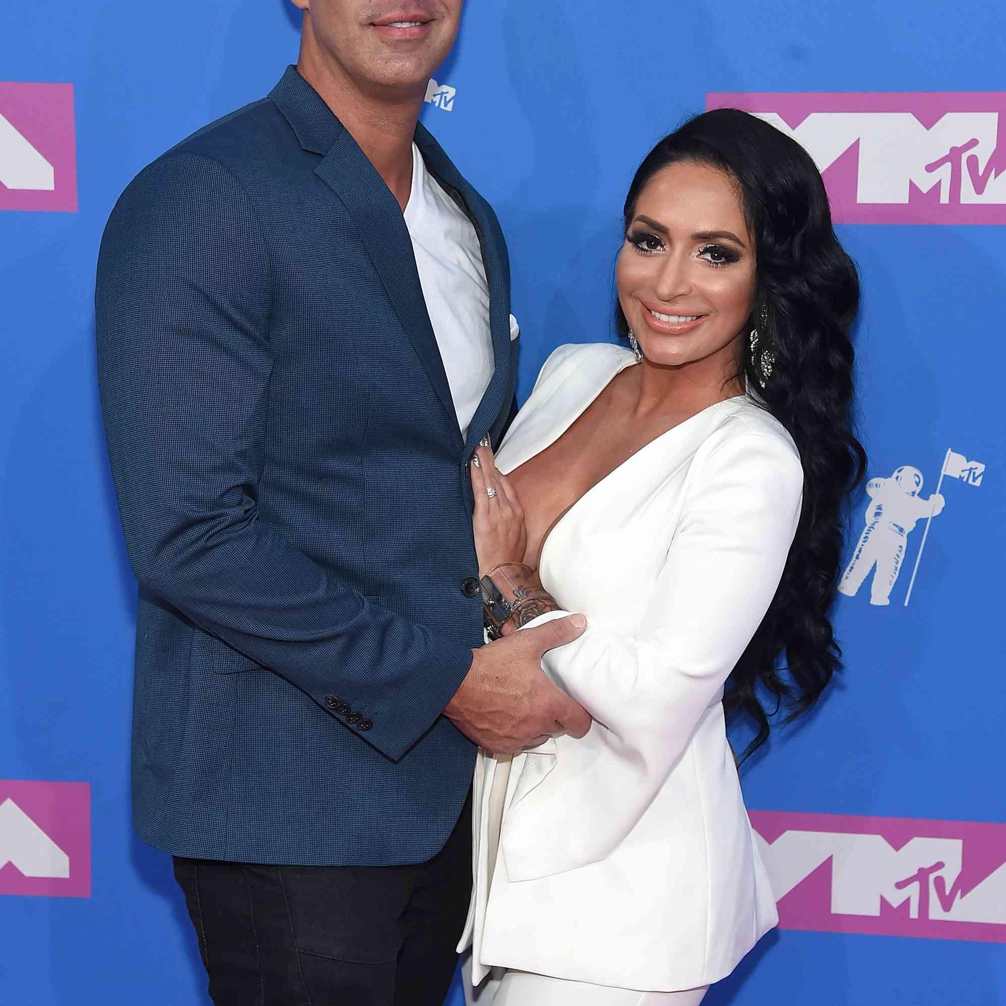 Angelina Pivarnick and boyfriend