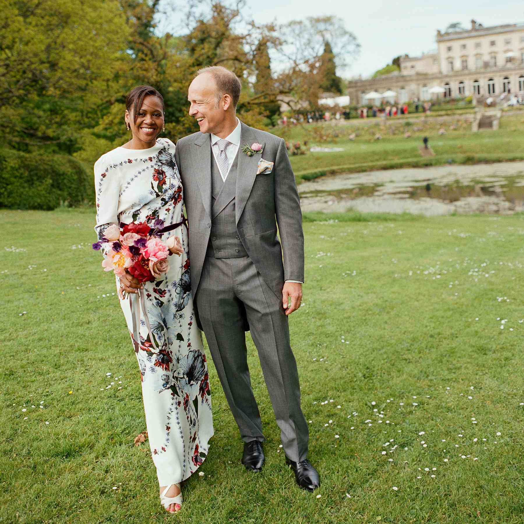 A Colorful Wedding In The English Countryside
