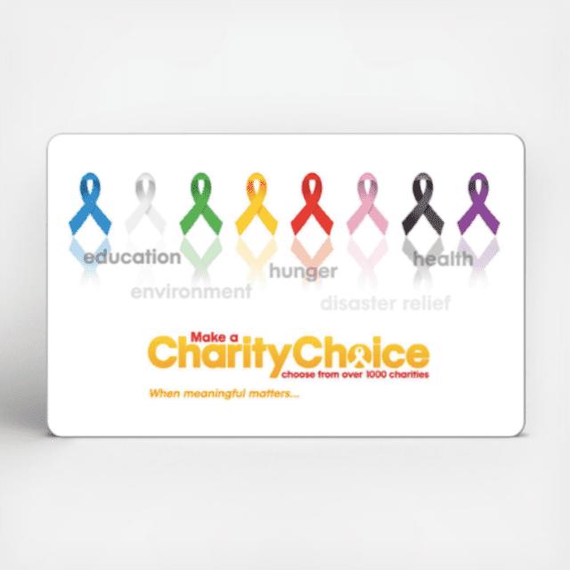 Charity Choice Gift Card