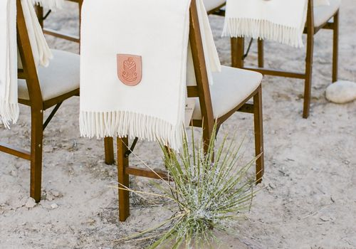 blanket at ceremony
