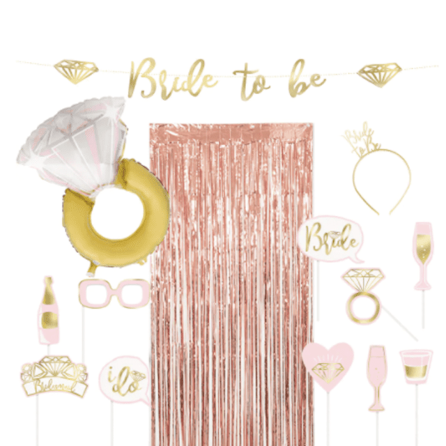 Bachelorette Party Photo Booth Kit