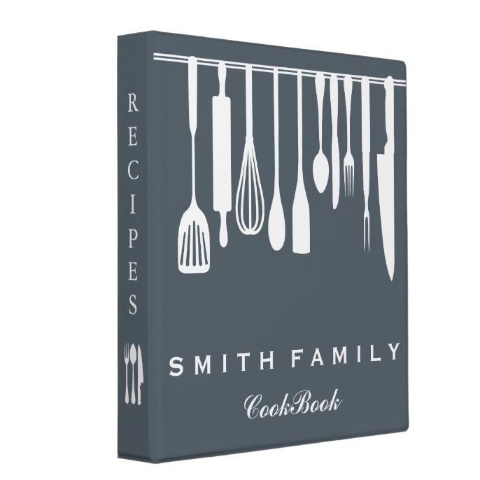 Personalized Family Recipe Cookbook