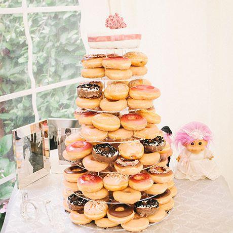 Donut Wedding Cake.46 Alternatives To The Classic Wedding Cake