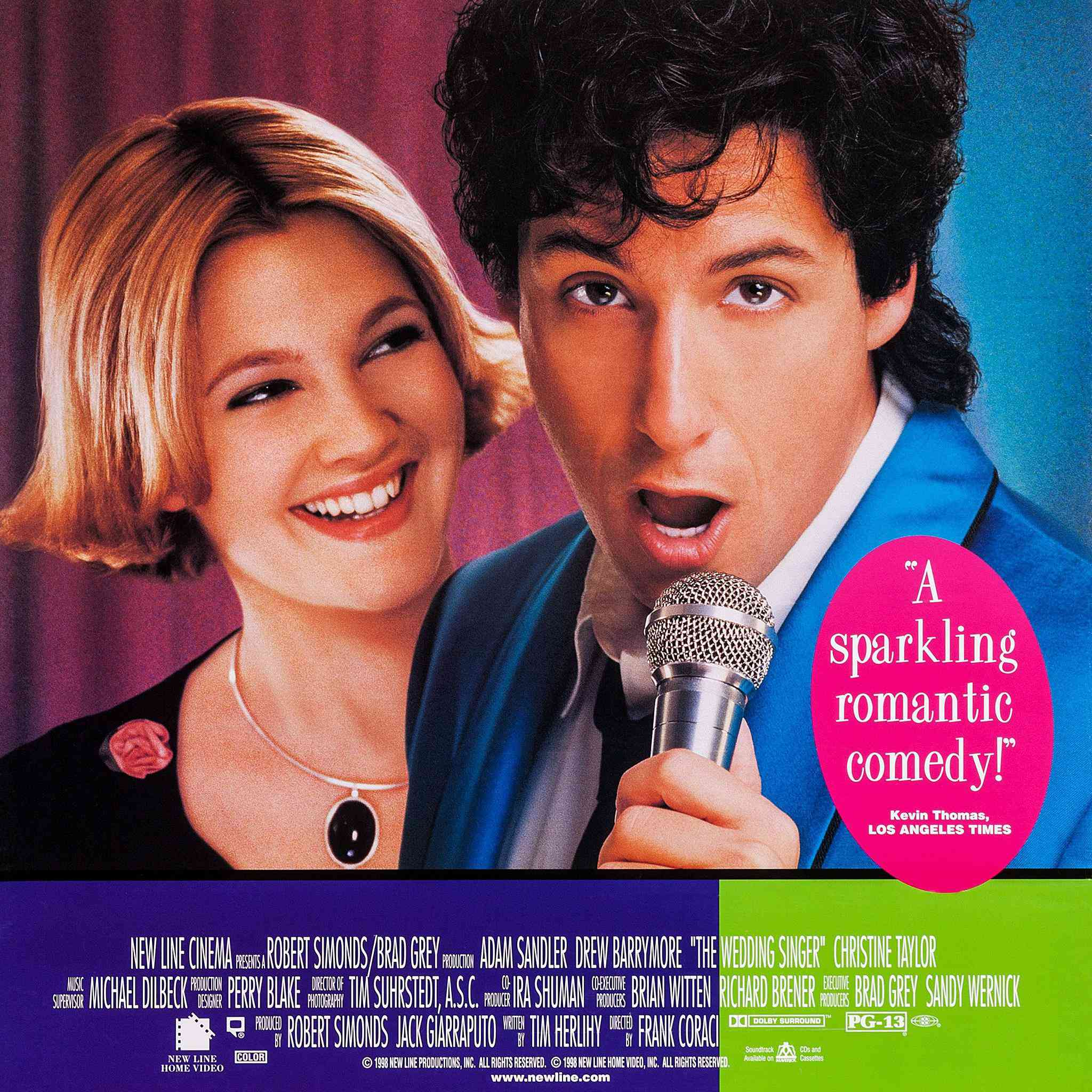 Wedding Singer Song.The Wedding Singer Turns 20 Here Are The Top Wedding Songs