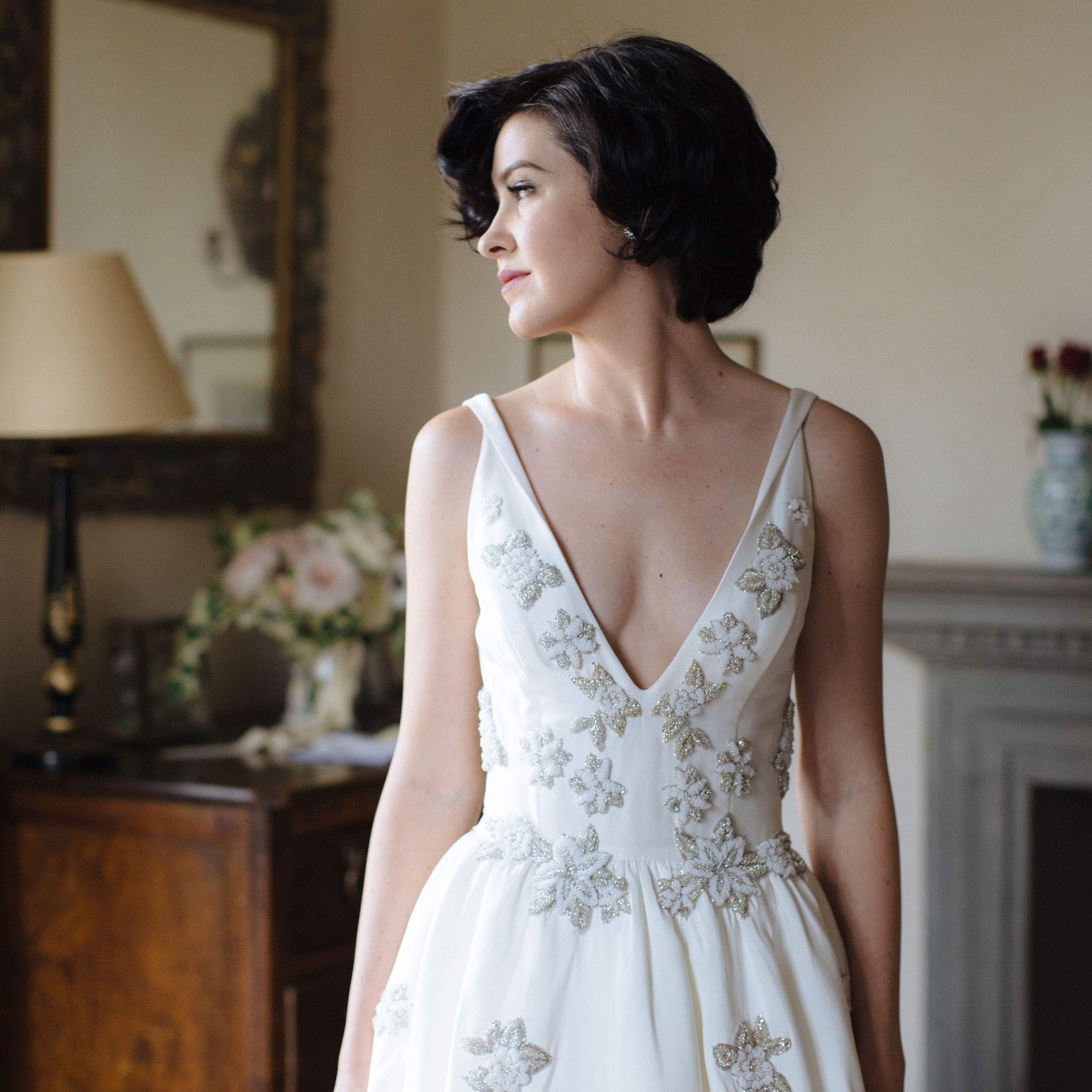 12 Wedding Hairstyles for Short Hair