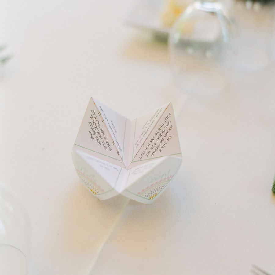 Cootie Catcher Wedding Ideas To Bring Out Your Inner Child